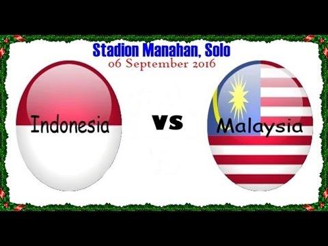 Friendly Match Indonesia vs Malaysia live RCTI 06-09-2016 INDONESIA MENANG