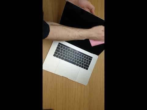 How to perfectly clean Apple MacBook Pro A1707 display lcd by itconsalting.business.site