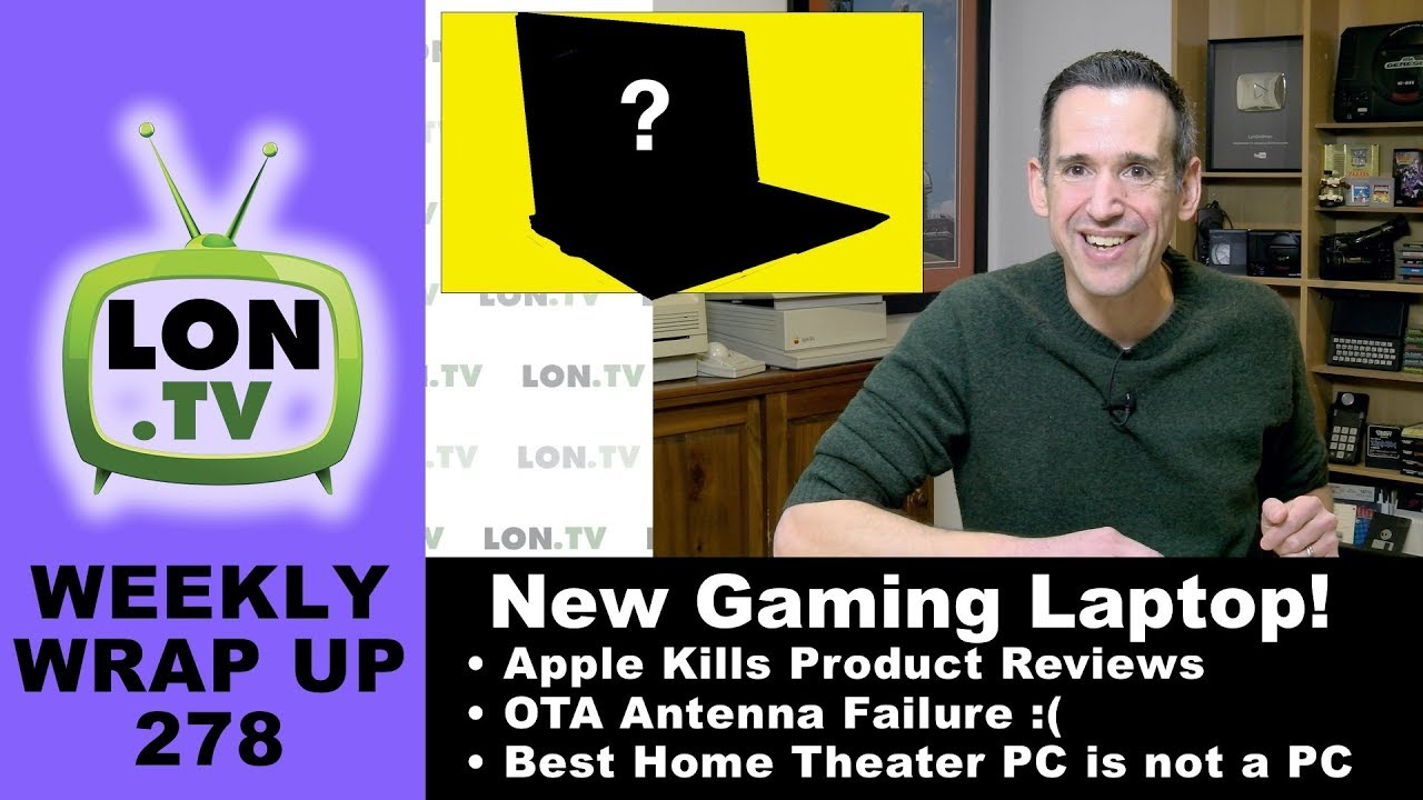 Black Friday Gaming Laptop, Apple removes reviews, OTA antenna install, and more