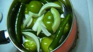 How to make Homemade Mild Tomatillo salsa