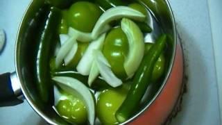 How to make Homemade Mild Tomatillo salsa