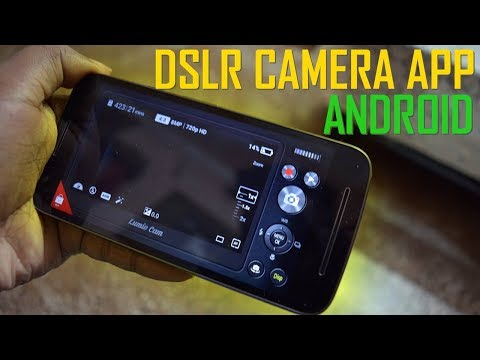 Best DSLR Looking Camera App for Android