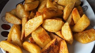 Картошка по деревенски в духовке/Country-style potatoes