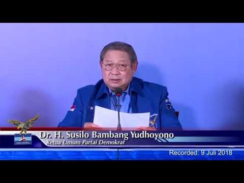 Pernyataan Pers SBY pada Sidang Awal Majelis Tinggi Partai (MTP) Partai Demokrat