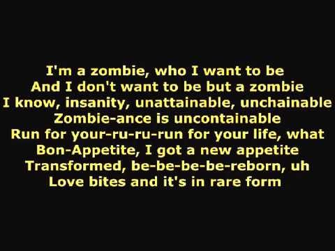 Zombie by Family Force 5 with lyrics
