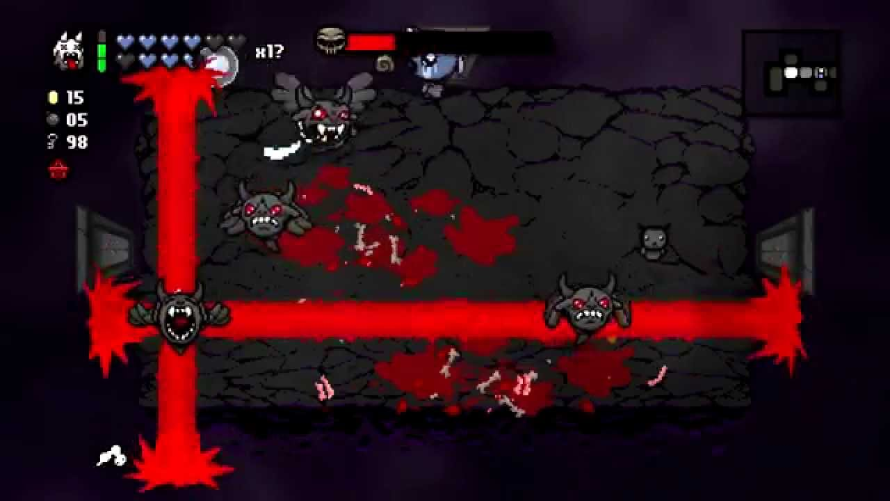 The Binding Of Isaac Rebirth First Time In The Dark