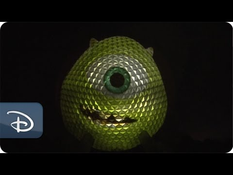 Mike Wazowski Takes Over Spaceship Earth | Walt Disney World