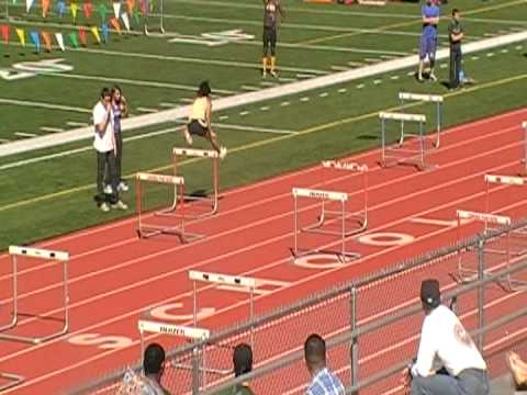 Knight high school Girls Shuttle Hurdles