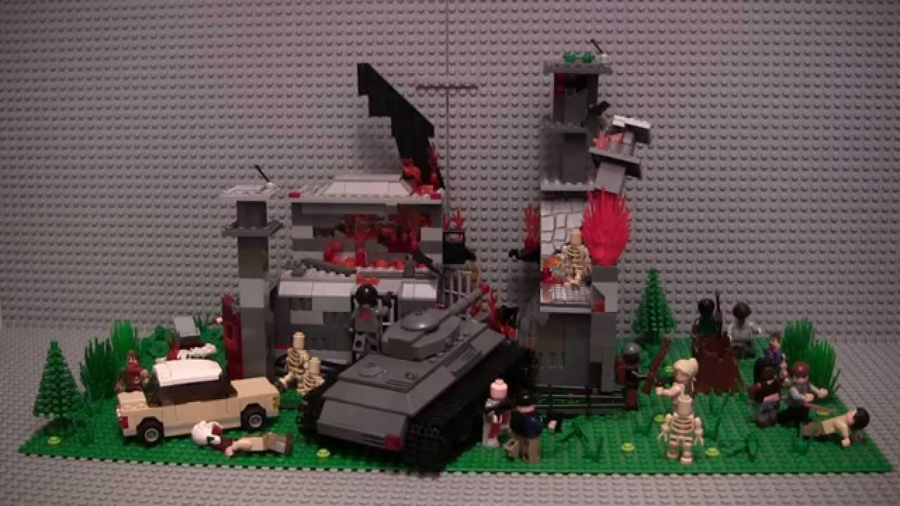 lego the walking dead too far gone moc updated youtube. Black Bedroom Furniture Sets. Home Design Ideas