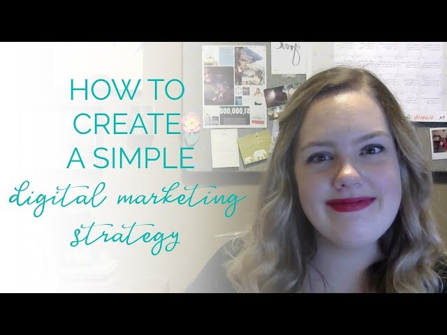how to create a simple digital marketing strategy