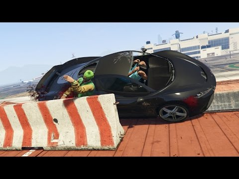 Полицейские шипы против машин нарушителей Перехват тачек BeamNG Игры про машинки аварии ДТП