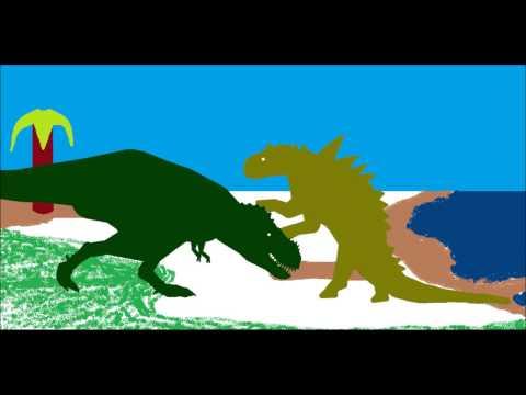 Tyrannosaurus Vs Edmontonia