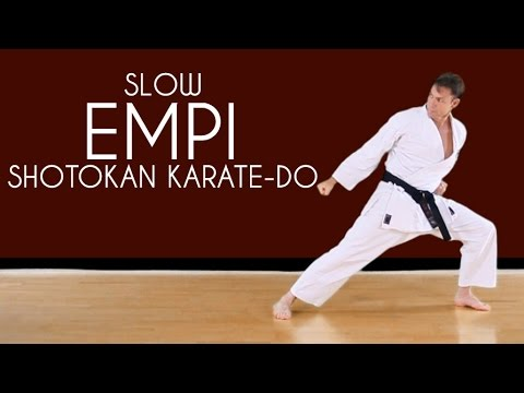 Enpi (SLOW) - Shotokan Karate Kata JKA
