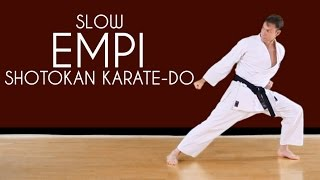 Empi (SLOW) - Shotokan Karate Kata JKA