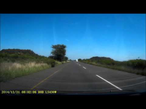 DashCam - Johannesburg to Sun City - 21 December 2014