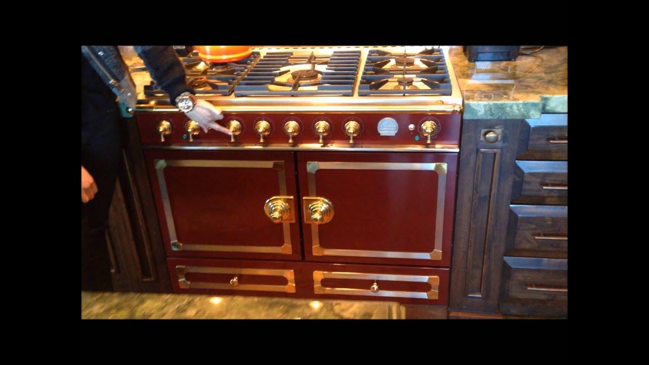 Gorgeous La Cornue stove in a Park City ski condo - YouTube