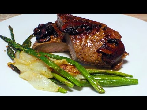 How To Cook A Steak Well Done (Steak And Asparagus)