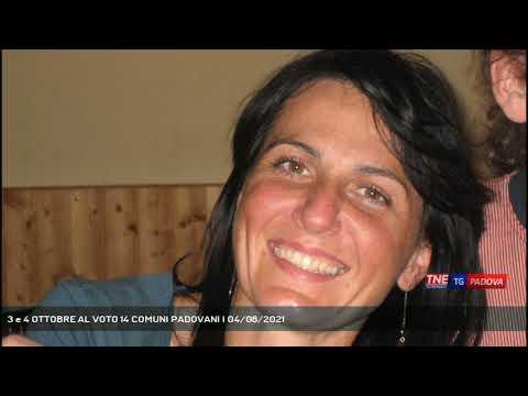 3 e 4 OTTOBRE AL VOTO 14 COMUNI PADOVANI   04/08/2021