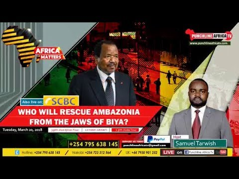 Punchline Tv on Who Will Rescue Ambazonia From The Jaws of Biya!