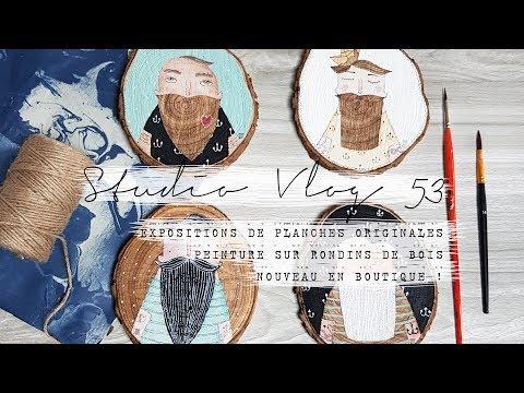 STUDIOVLOG 53 : Marins, Papeterie Et Exposition De Planches Originales