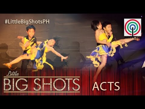 Little Big Shots Philippines: Alyza & Andrielle | Dance Sport Athletes