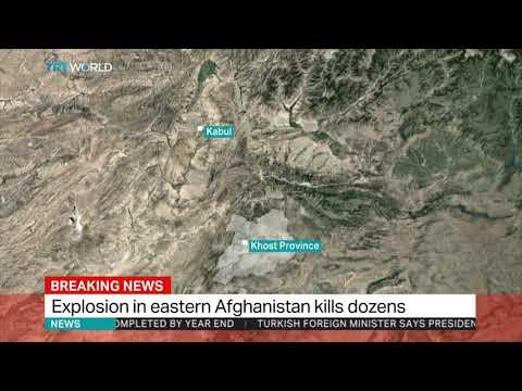 Bomb blast hits Afghan mosque