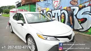 2018 Toyota Camry - народный автомобиль. Отличия Американской версии. Авто из США.