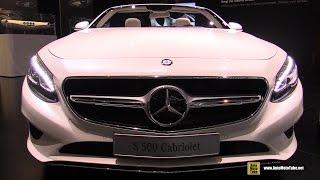 Video 2016 Mercedes S-Class S500 Cabriolet - Exterior , Interior Walkaround - 2015 Frankfurt Motor Show download MP3, 3GP, MP4, WEBM, AVI, FLV Agustus 2018