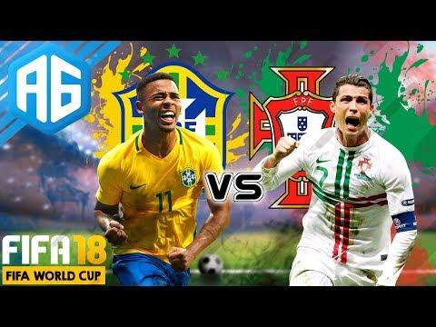 FIFA 18 - FIFA WORLD CUP RÚSSIA 2018 - FOI O MELHOR JOGO DA COPA...QUE JOGÃO! (Português-BR)