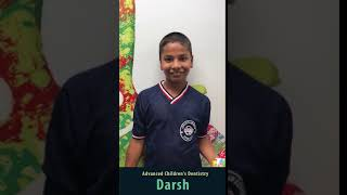 Advanced Children's Dentistry | Garden City Pediatric Dentist | Darsh Video Testimonial