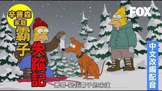 霸子失蹤記《辛普森家庭》週六23:00首播 中文改編配音版 FOX原版影片
