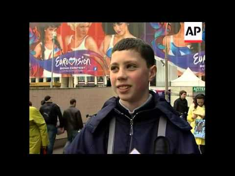 Fans gather to see finals of Eurovision Song Contest