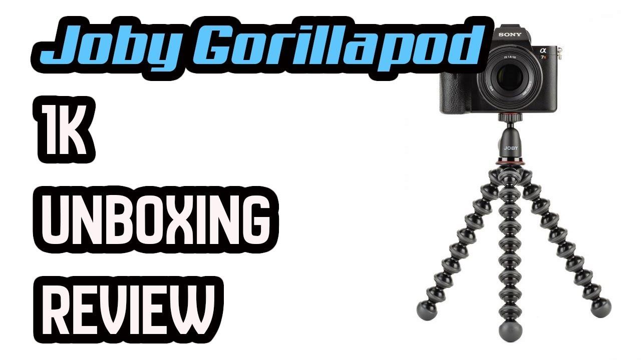Joby Gorillapod 1k Review Unboxing Youtube Gorilla Pod 3k Kit