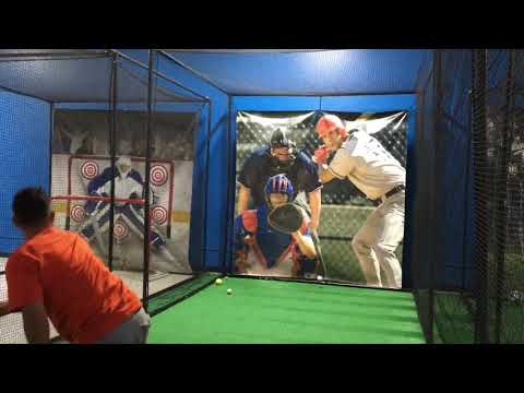 Fastest pitch on record by 45 year old man 98mph!!