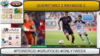 QUERETARO ,Sanvezzo le quita el triunfo a #Monterrey en el último minuto 2-2
