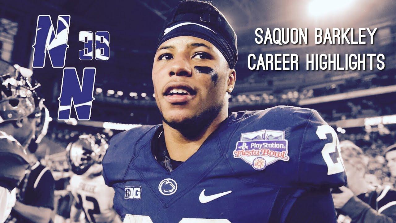 bf7be521 New York Giants 1st Round Pick: Running Back Saquon Barkley