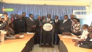 CORD insists anti-IEBC demos to continue