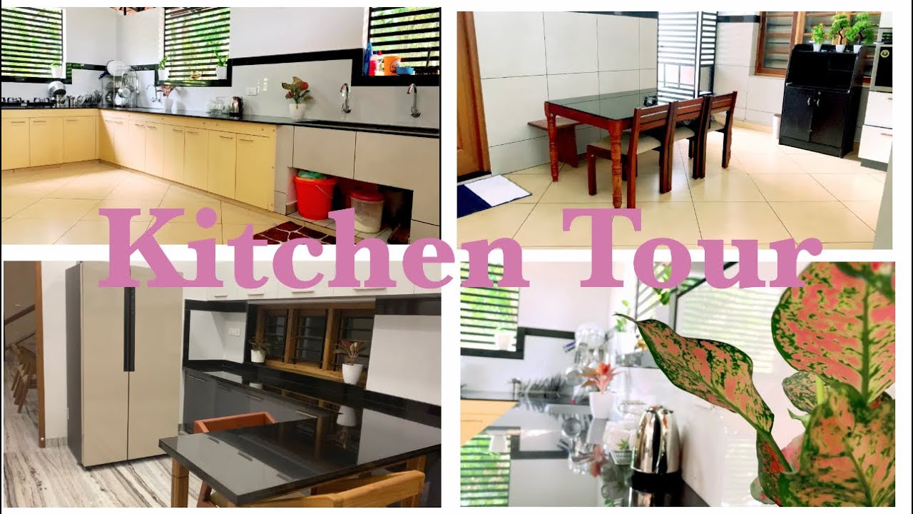 Kitchen Tour Malayalam    Sissy's New Home    latest design