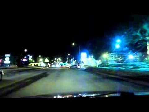 Downtown Sainte-Foy at night, Quebec City - Boz Scaggs, Simone (TEST)