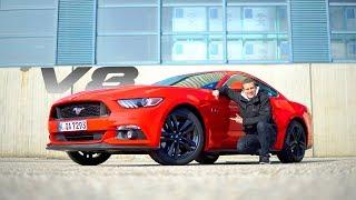V8 FÜR 45.000EURO! Ford Mustang GT V8 2017 | Review und Fahrbericht | Fahr doch