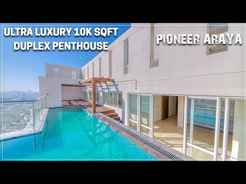 10K Sqft Ultra Luxury penthouse in Gurgaon !! Pioneer Araya