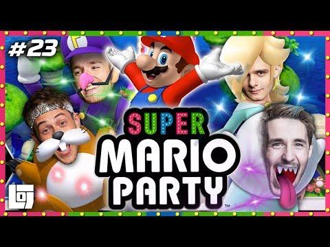 SUPER MARIO PARTY met Jeremy, Joost, Duncan en Link | LOGS3 | #23