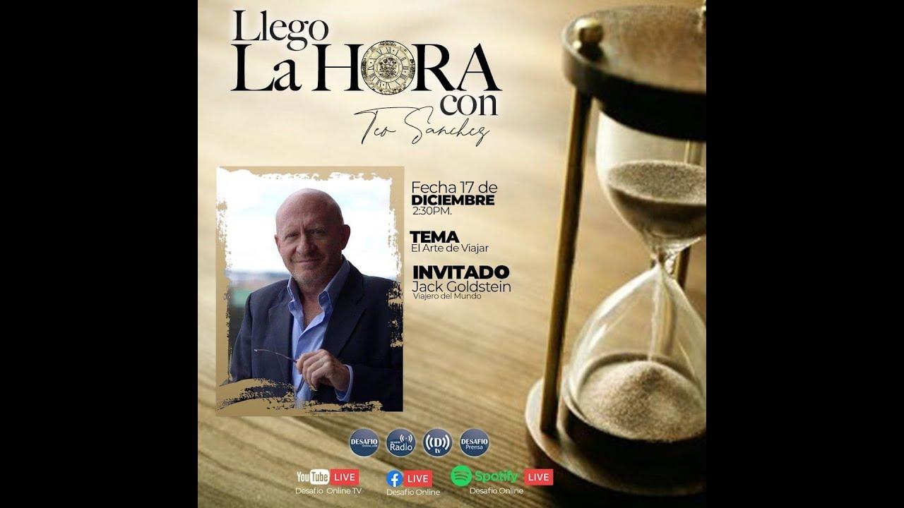 """""""Desafío online. Llegó la Hora"""" entrevista sobre Hotelería, Viajes y Economía en Pandemia."""