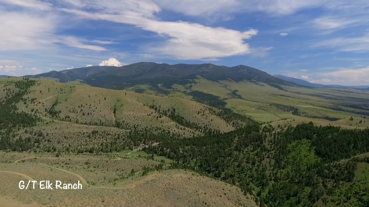 G/T Elk Ranch Aerial - Leanne Bodell, Clearwater Montana Properties