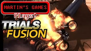 Plays Trials Fusion (PS4 gameplay)