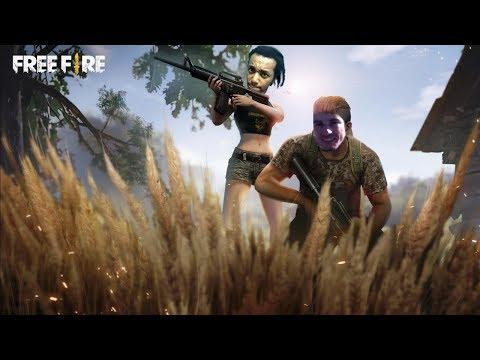 FreeFire: Jogando para Ganhar!? Ou para Zuar!? DUO Feat. SURVIVE!!! - Omega Play