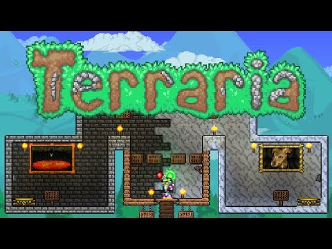 Terraria 1.3.5 - Choose your Fate - Full Adventure Map!