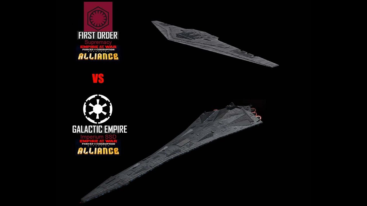 Star Wars Empire at War – FOC Alliance – Imperium vs Supremacy