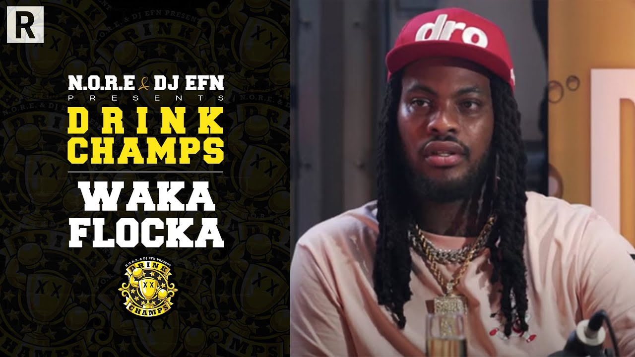 Waka Flocka Talks His Music Journey, Mental Health, Desiac Liqueur And More | Drink Champs