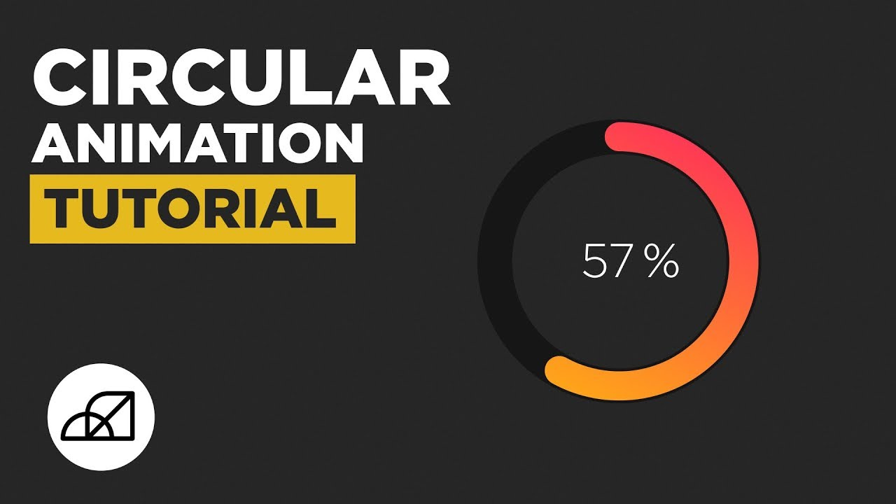 Circular Infographic Pie Chart Animation Tutorial After Effects